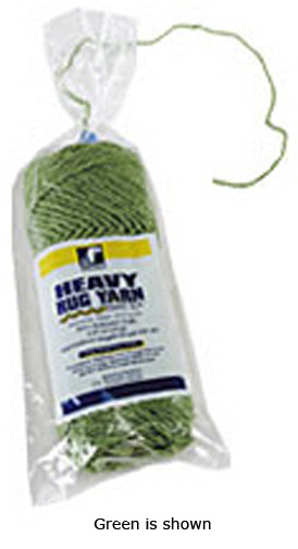 Trait-tex® Heavy Rug Yarn White 60 Yards