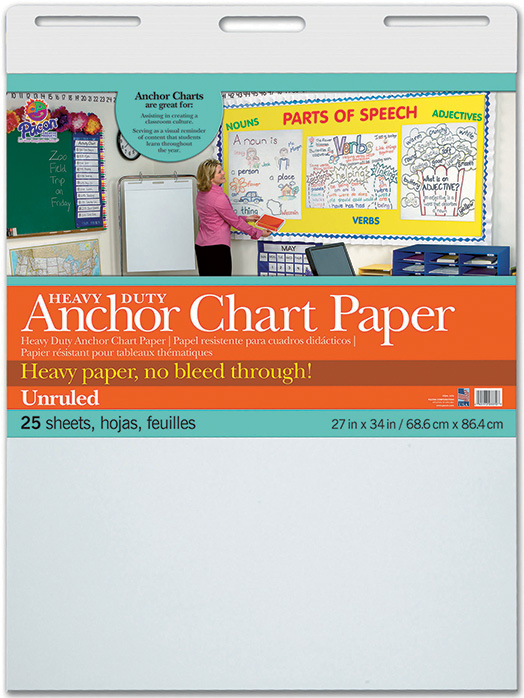 Heavy Duty Anchor 27x34 Unruled Chart Paper