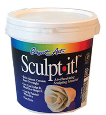 Sargent Art Sargent Art Sculpt It White 2 Lbs