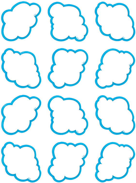 Cloud Mini Accents