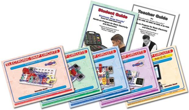 Snap Circuits® Elenco Snap Circuits Student Guide For SC-750R