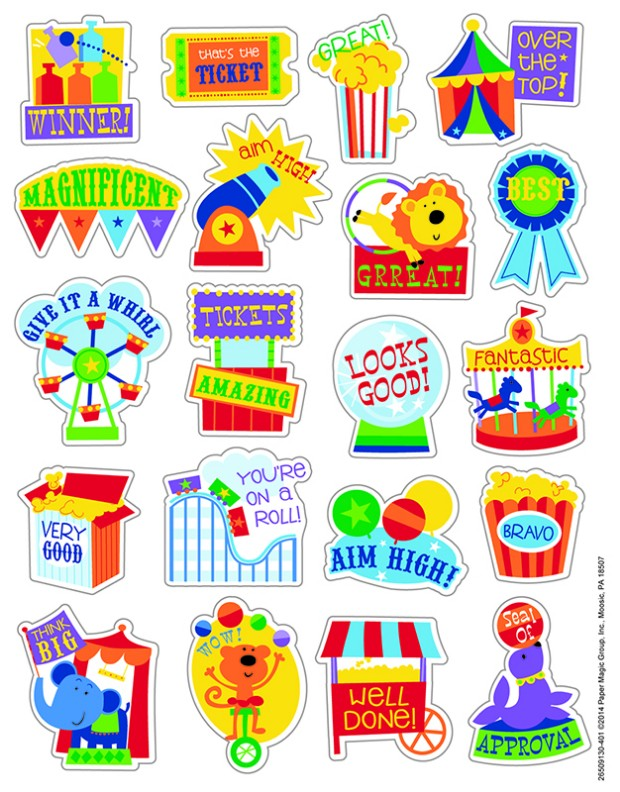 Popcorn Scented Stickers