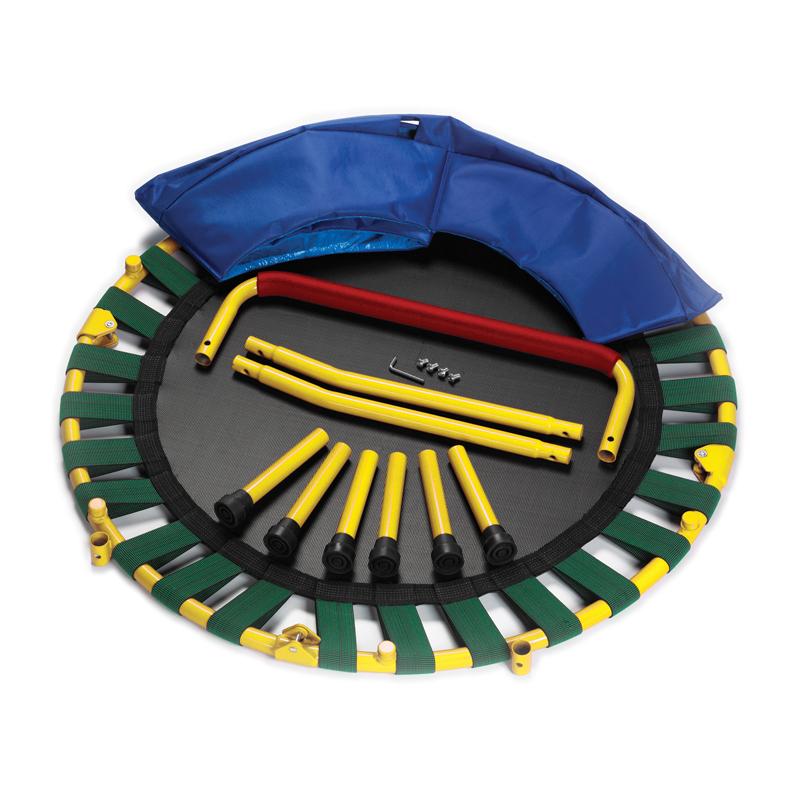 fold and go trampoline gross motor skills games. Black Bedroom Furniture Sets. Home Design Ideas