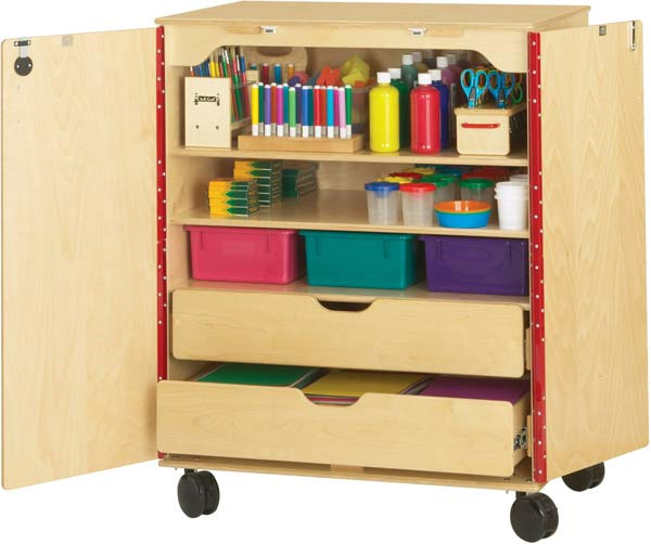 arts and crafts storage ideas jonti craft supply cabinet activity tables 5907