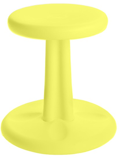 Kids Kore Wobble Chair 14in Yellow