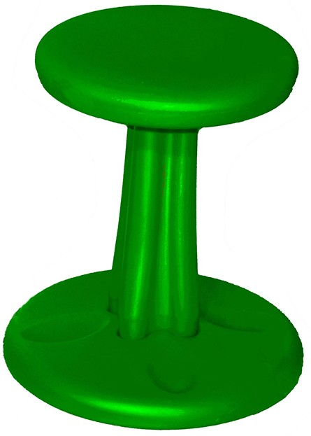 Kore Design Toddler Wobble Chair: Green, 10 Inches