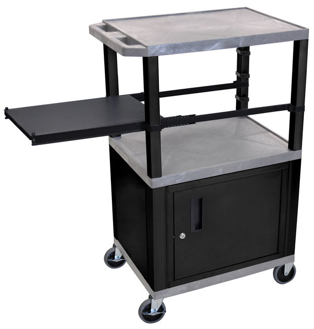 Luxor Kitchen Cabinets: Luxor Side Pullout Shelf Carts Black Legs With Cabinet