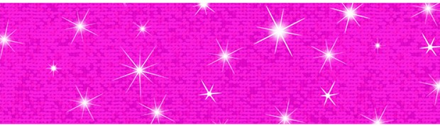 Hot Pink Bolder Borders Sparkle