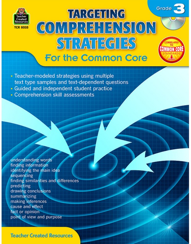 Gr 3 Targeting Comprehension Strategies For The Common Core