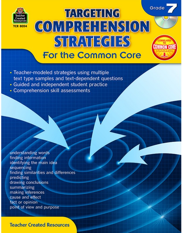 Gr 7 Targeting Comprehension Strategies For The Common Core