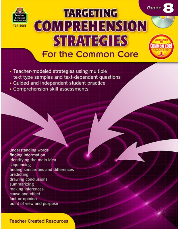 Gr 8 Targeting Comprehension Strategies For The Common Core