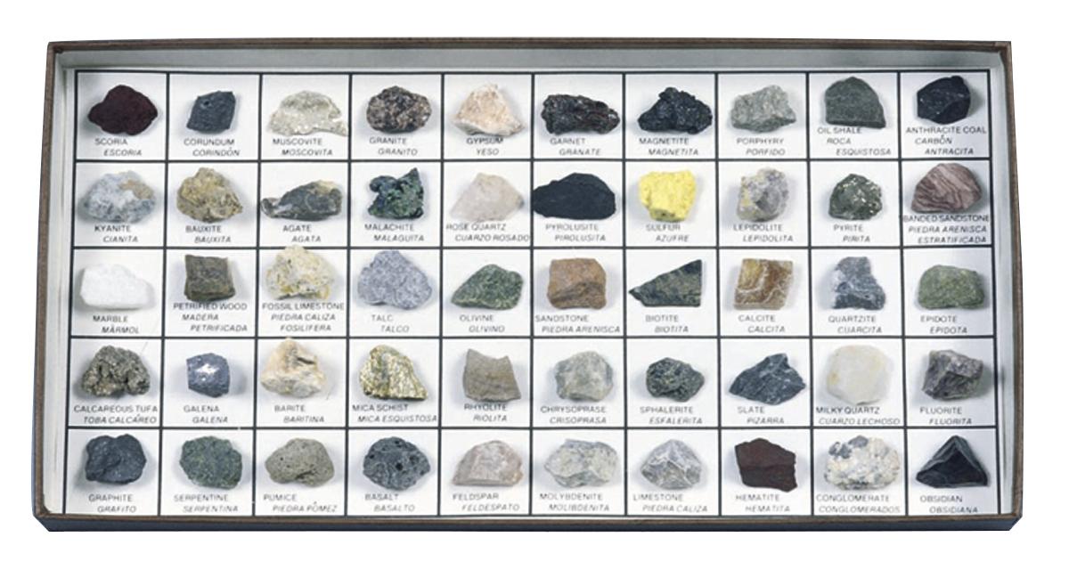 ... Scott Resources & Hubbard Scientific Rocks & Minerals of U.S. Intro  Collection ...