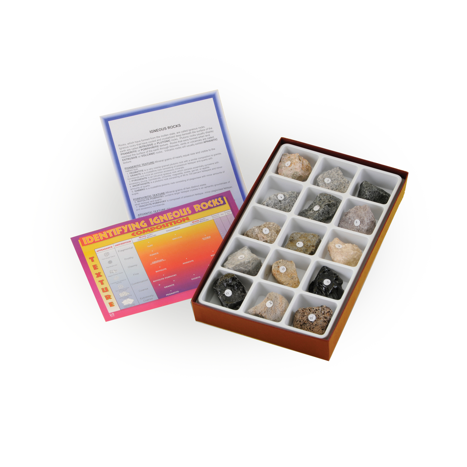 Scott Resources & Hubbard Scientific Igneous Rock Collection