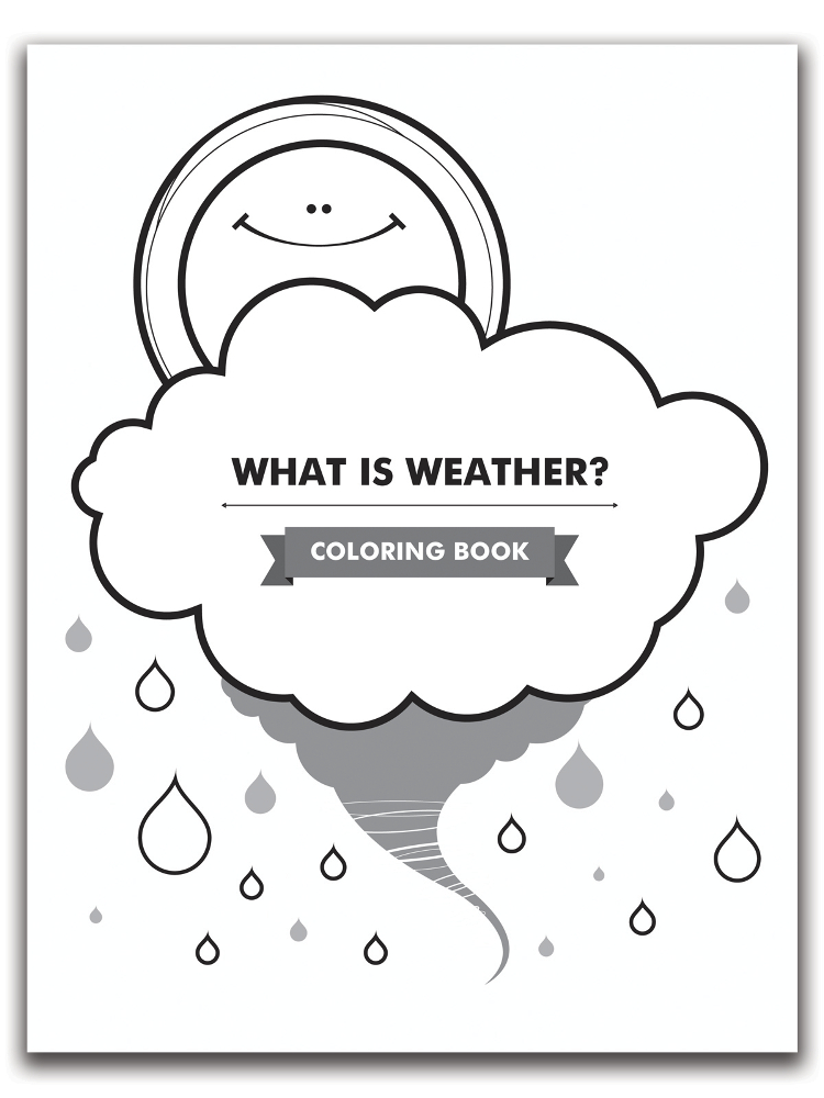 Scott Resources & Hubbard Scientific What is Weather? Coloring Book ...