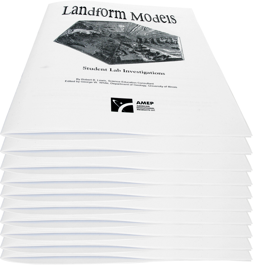 Scott Resources & Hubbard Scientific Landform Discovery Pack: Student Lab Workbook, Set of 10