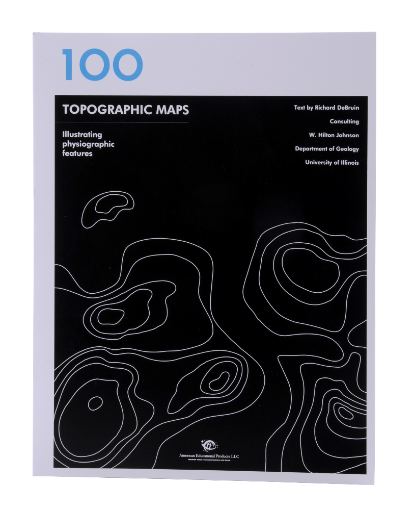 Scott Resources & Hubbard Scientific Book of 100 Topographic Map: Individual