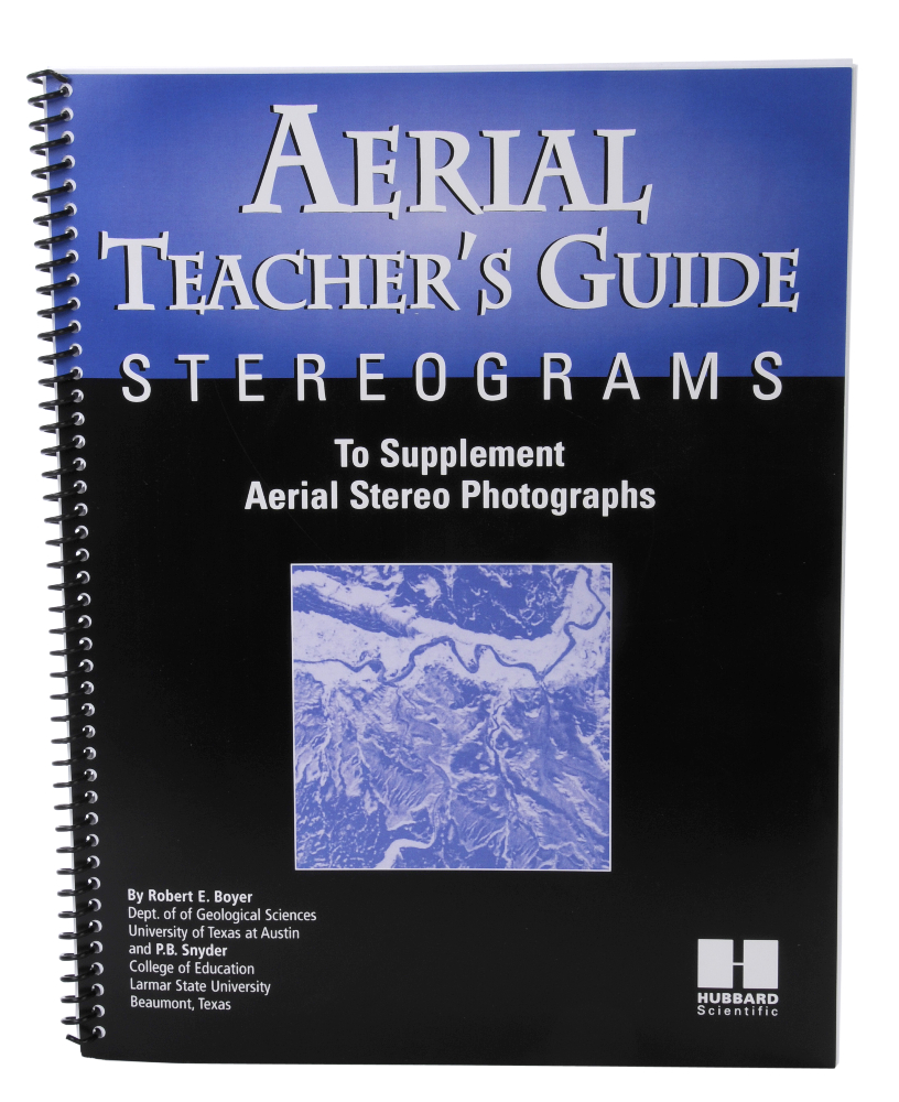 Scott Resources & Hubbard Scientific Aerial Stereogram Study Book: Teacher's Guide