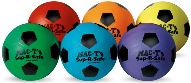 American Education Sup-R-Safe Soccer Ball: Set of 6
