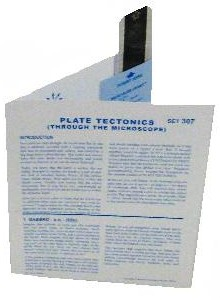 Microslide Plate Tectonics: Set of 30 with Box