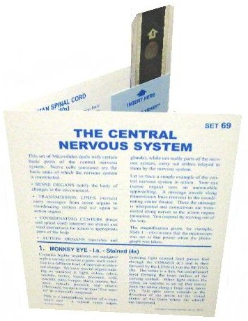 Microslide Central Nervous System: Set of 30 with Box