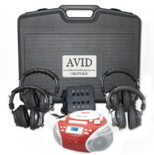 AVID Listening Center with Player: Model # 4LC35S+BB-992