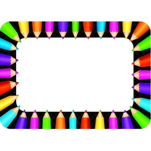 Colored Pencils Name Tags :: Name Tags :: Teacher Supplies ...