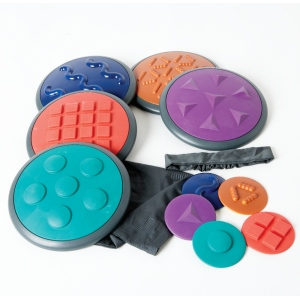 Gonge Tactile Disc: Set-2 with 5 Discs
