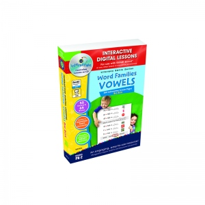 Interactive Whiteboard Lesson Plans Word Families Vowels Big Box ...