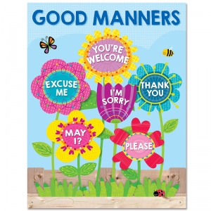 Garden Of Good Manners Chart Charts Decoration