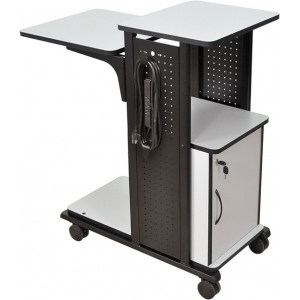 "Luxor 40"" Presentation Station- Cabinet, Electric"
