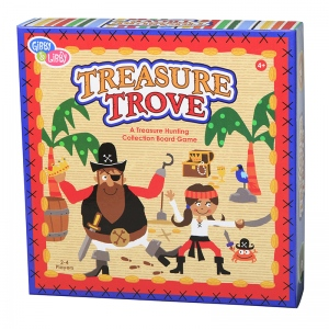 Treasure Trove Paper Board Game
