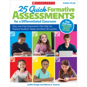 25 Quick Formative Assessments Differentiated Classroom