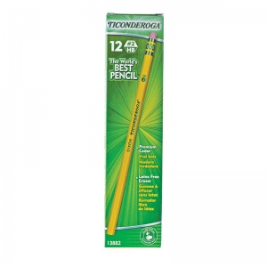 Ticonderoga Pencil No 2 Soft 1dz