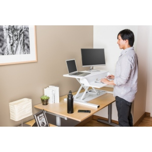 "Luxor Level Up Pro 32"" Standing Desk Converter"