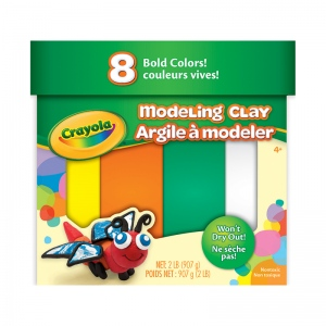 (4 Ea) Modeling Clay 2 Lb Jumbo Assortment