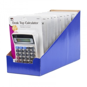 Set of 12 CHARLES LEONARD Primary Calculator Single 8 Digit