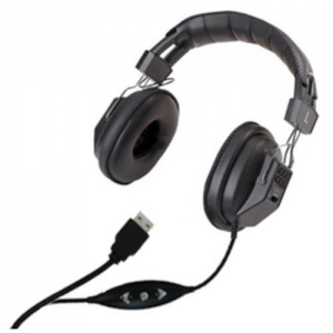 AVID Stereo/Mono Headphone: Model # AVD-AE-808USB