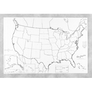 Giant Us Map In X In Map Of USA Maps Globes Teacher - Giant us map