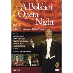 A Bolshoi Opera Night - A Live Concert From The Bolshoi Theatre DVD