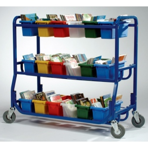 Copernicus Library On Wheels™ With 18 Small Tubs