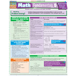 Barcharts Math Fundamentals 5: Word Quick Study Guide