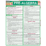 Barcharts Maths Fundamentals: Pre-Algebra Quick Study Guide