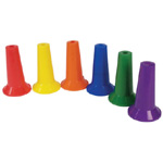 American Education Cone Marker: Assorted Colors, Set of 48