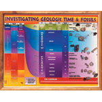 Scott Resources & Hubbard Scientific Geologic Time & Fossils Chart Transparency