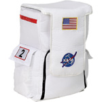 Aeromax Astronaut Back Pack: White