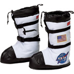 Aeromax Astronaut Boots: White, Medium