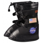 Aeromax Astronaut Boots: Black, Medium