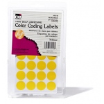 Color Coding Labels Yellow