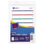 Avery Print Or Write Assorted File Folder Labels
