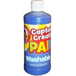 Blue 16oz Washable Paint By Captain Creative